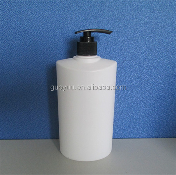 White Foaming Pump Refillable 500ML Bottle Liquid Soap Bathroom Kitchen Empty Plastic Bottles