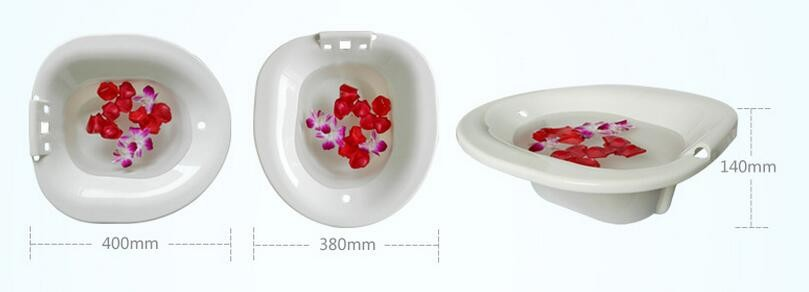 soft foldable medical sitz bath bidet