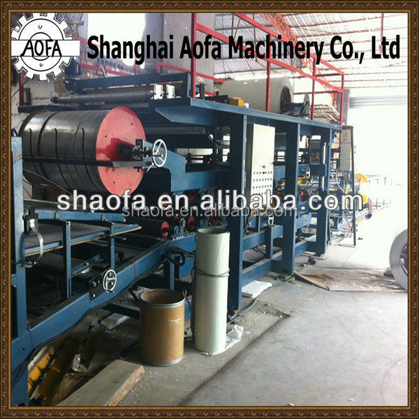 small machine big profits eps sandwich wall panel production line/rol forming machine