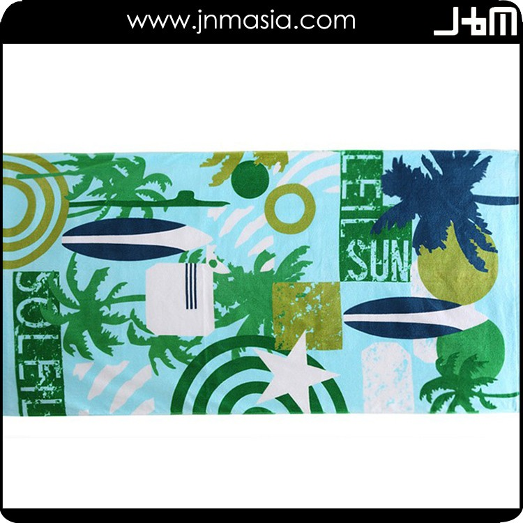 Special design widely used ultra thin cotton beach towel