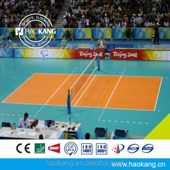 Indoor Volleyball Court Pvc Floor Thickness 8.0mm - Buy Indoor ...