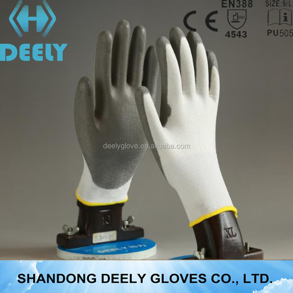 Similar Products Contact Supplier Leave Messages cut level 5 work anti cut gloves/pu coated cut resistant gloves