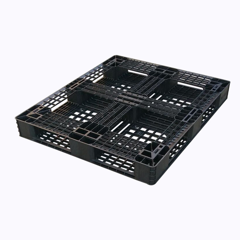 One time use HDPE single faced disposible euro plastic pallet