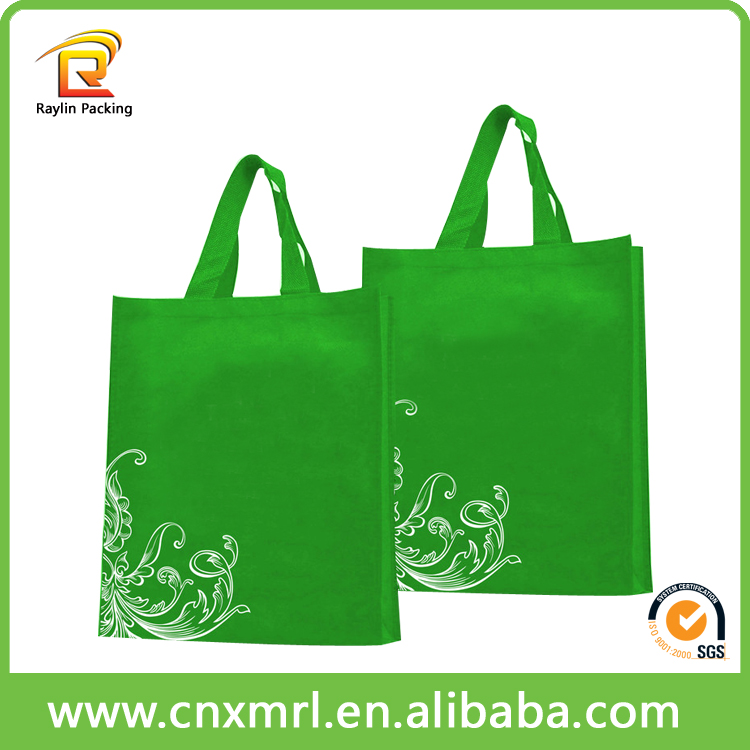 2016 Free sample Promotional Fabric shopping bag non woven bag