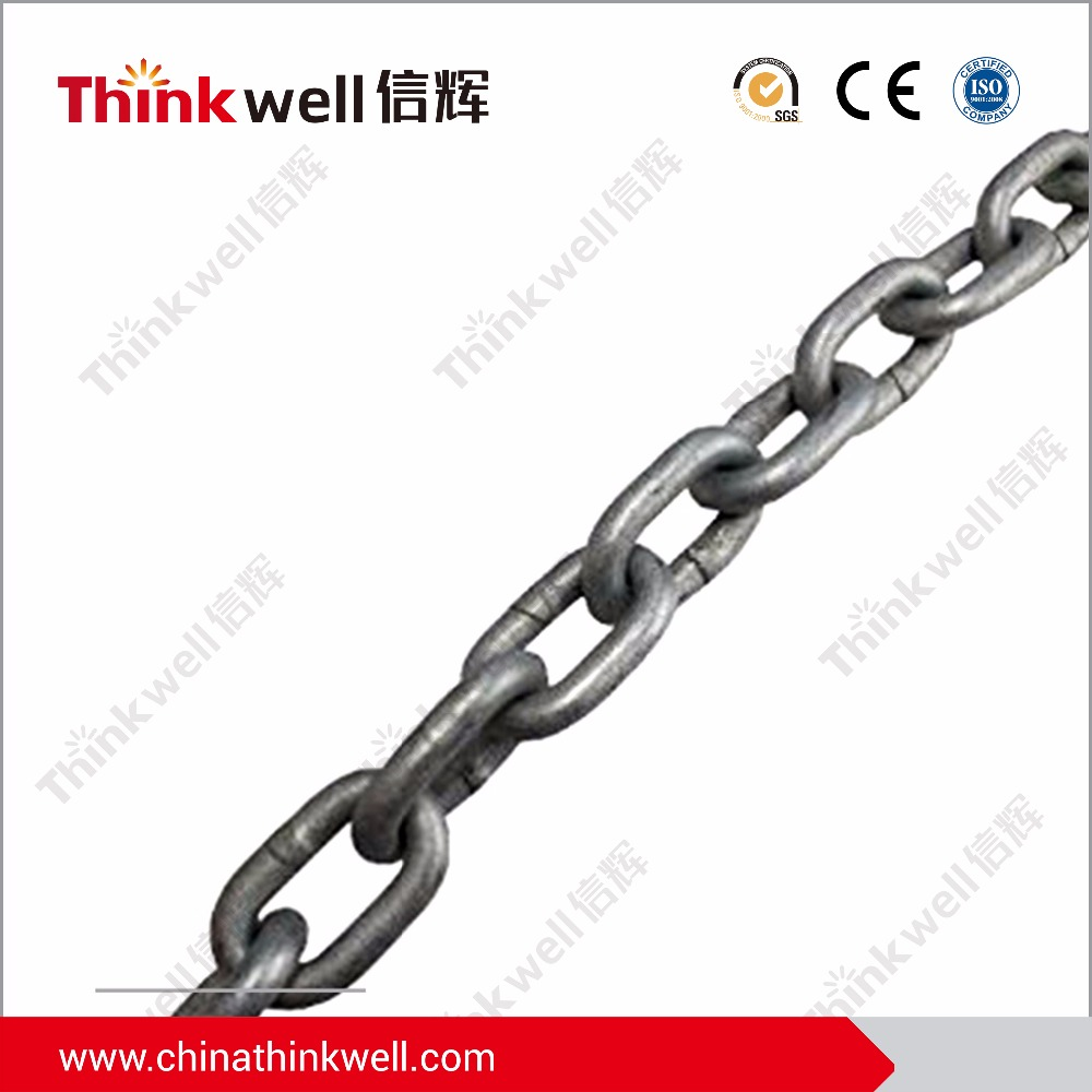 HDG EG Welded Steel Proof Coil Chain Long Link Chain