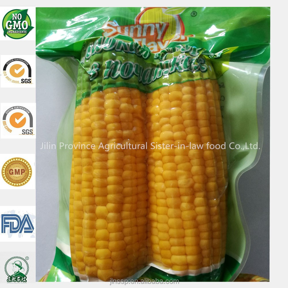 Wholesale Healthy Snack Sweet Corn Cobs