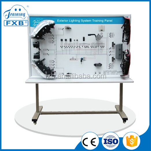 Exterior Lighting System Training Panel / educational equipment/ electronics lab kit