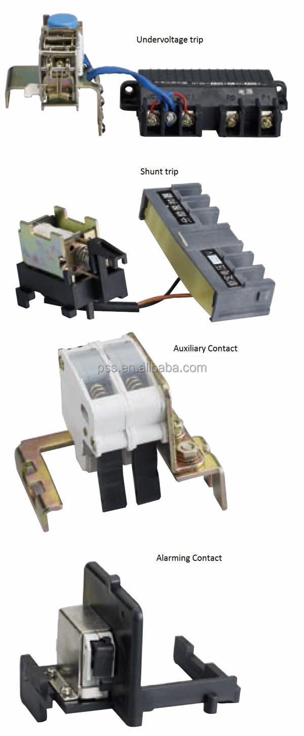 Cdm1l Mccb Circuit Breaker Elcb Delixi Air Cdw16300 China Manufacturer