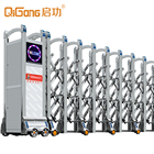 Retractable automatic collapsible gate QG-J1708