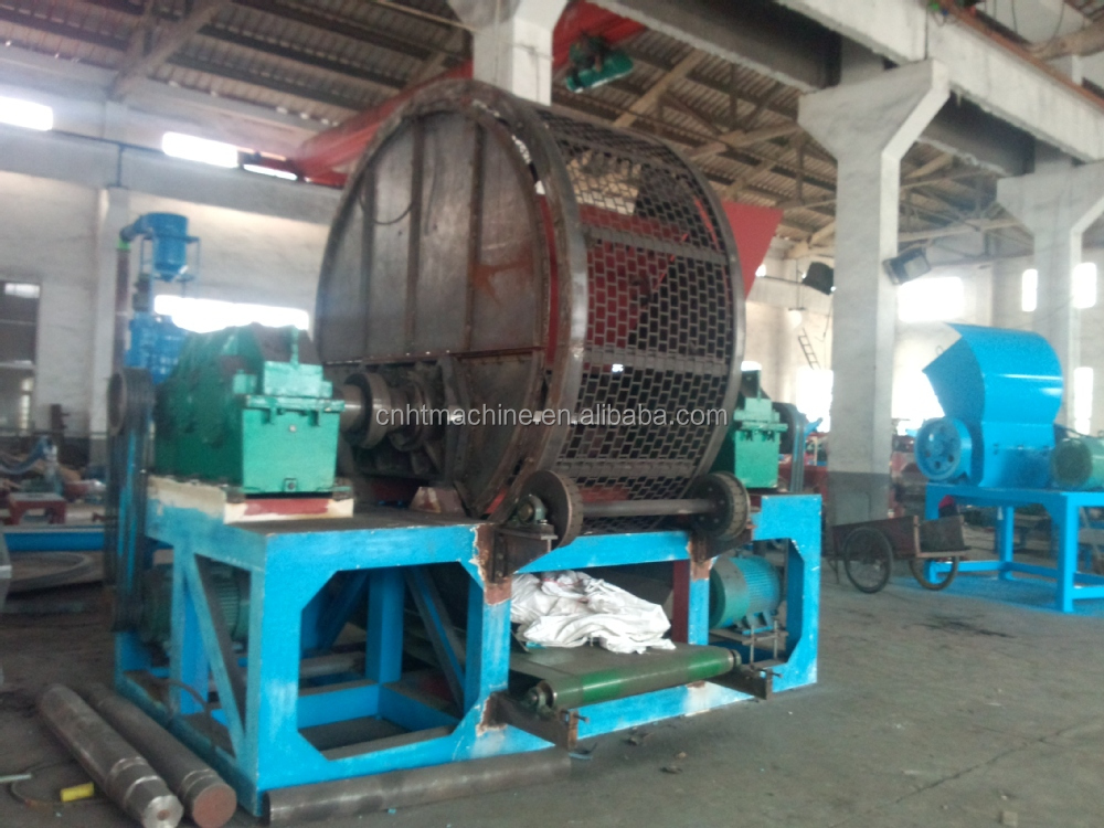 Automatic Waste Tire Recycling Line Tyre Recycling Machinery Used ...