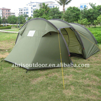 4 PERSON FAMILY TUNNEL TENT WITH LIVING ROOM-DARK GREEN & 4 Person Family Tunnel Tent With Living Room-dark Green - Buy ...