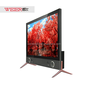 With tv sound bar 24 inch cheap Chinese skd led tv