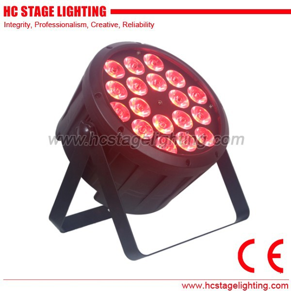 wholesale event lighting cheap stage kit dmx rgbw par led 18x10