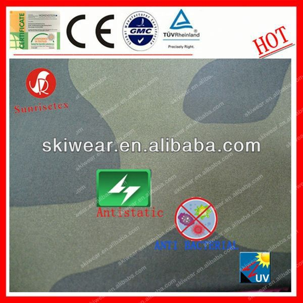 Anti Bacterial 100% Polyester licensed fabric prints For Outdoor Garment
