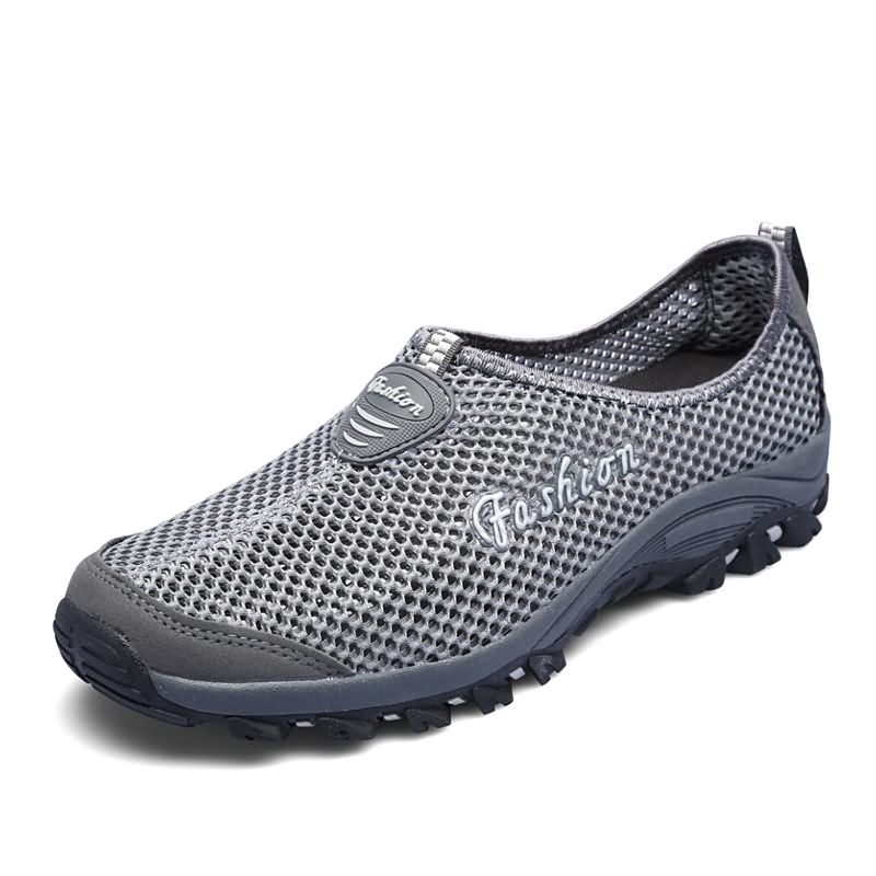 soft gray yards comfortable heat shoes 39 SDIiLAN Dark men breathable bottom proof 1qwS8aT5x