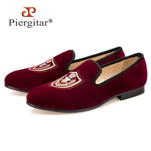 2de2793b6f0 Wholesale Piergitar Men Velvet Loafer Shoes