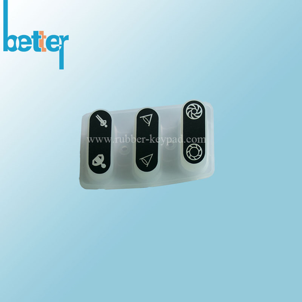 Custom Made Rubber Silicone Push Button