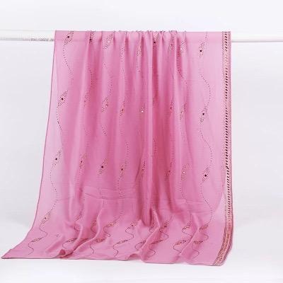 Fashion  bubble chiffon wrinkle hijab scarf arabic style crimp scarf and shawl Crepe Muslim women stoles hijab
