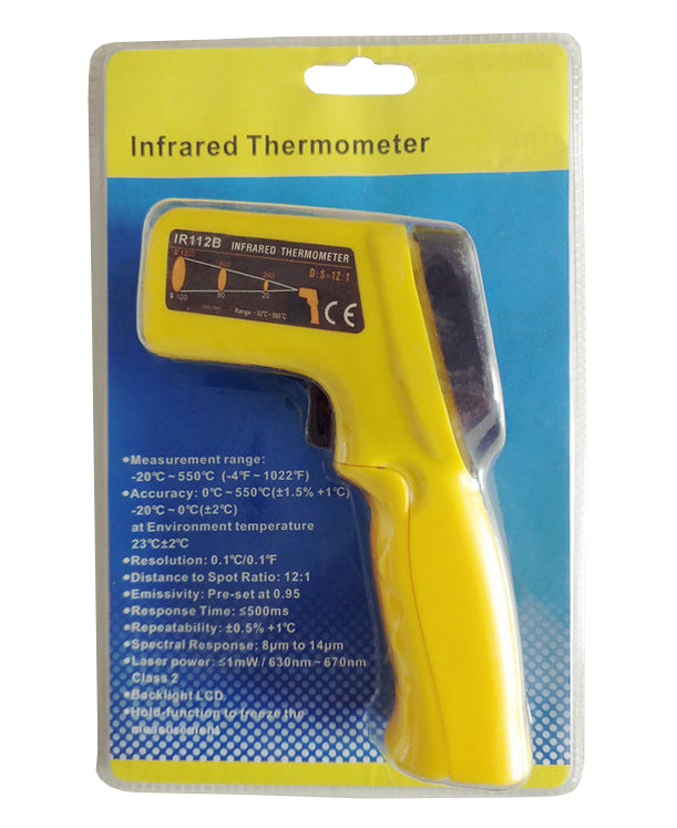 Used Industrial Temperature Measurement Calibration Infrared Thermometer - KingCare | KingCare.net