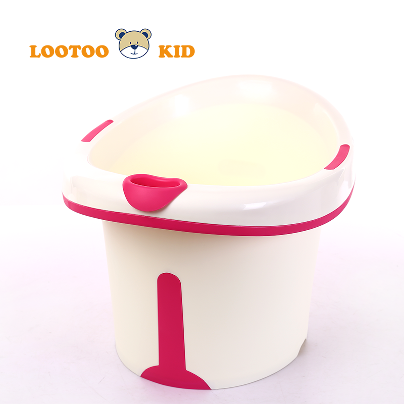 Hot sale alibaba trade assurance china factory new design plastic foldable baby bathtub