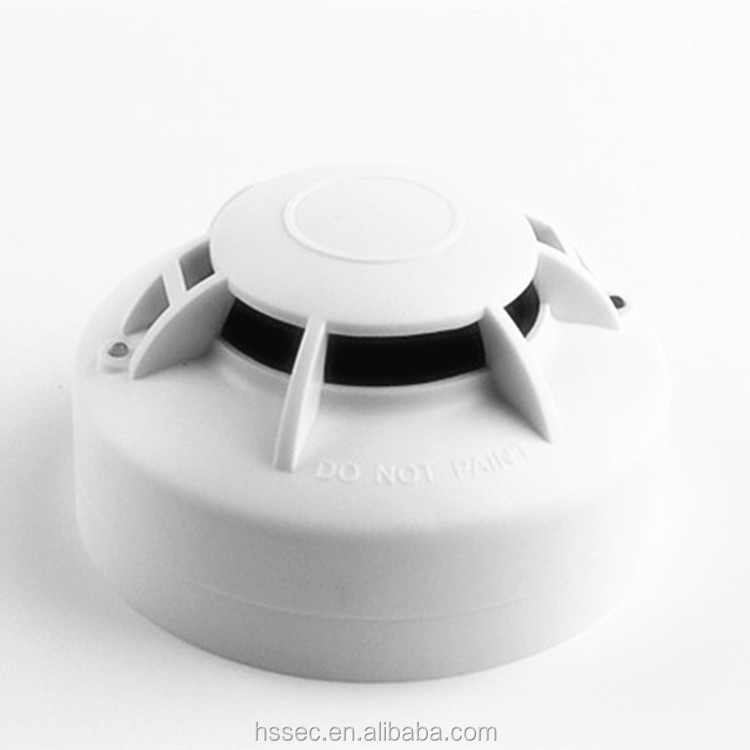 Easy installation electric smoke alarm