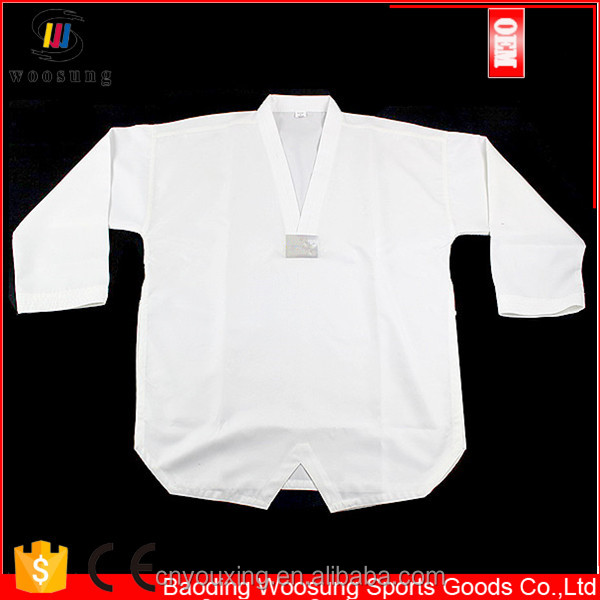 New products Tae Kwon Do Uniform White Martial Arts child/youth