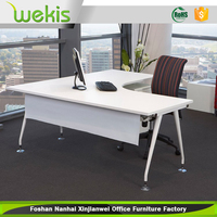 2016 newest L shape modern executive office desk for commercial use