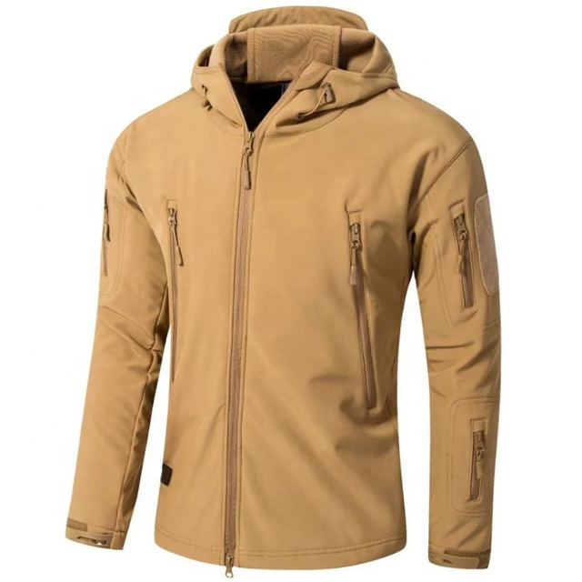 Men Polar Fleece Camping Hunting Jacket Outdoor Hunting Uniform Warm Hunting Coat
