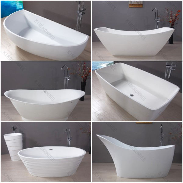 Solid Surface Tub , Short Bathtubs For Sale