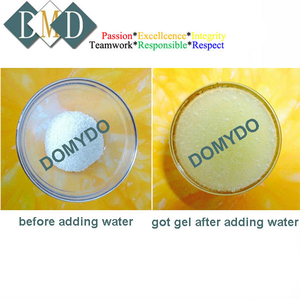 Antibacterial and deodorizing solution stabilized chlorine dioxide CIO2 Gel type
