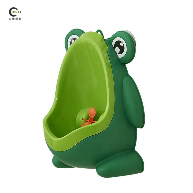 New popular frog shape wall-hung plastic baby boy urinal/toilet/potty