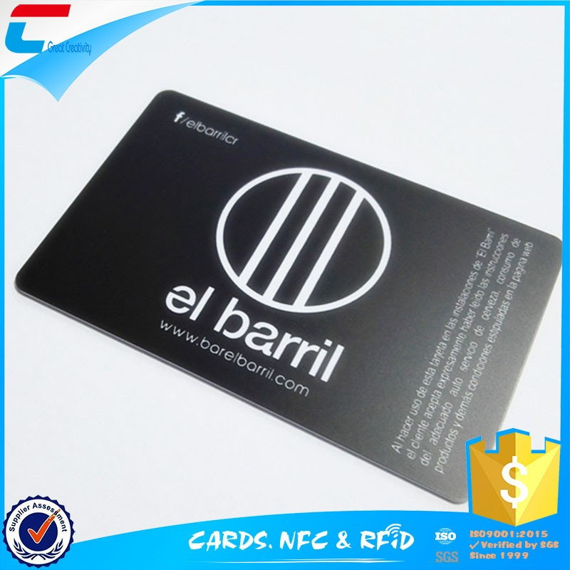 Factory cheap matte pvc business card printing from China supplier