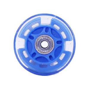 Wholesale Sliding Flash Roller ABEC-7 Bearing PU Inline Skates Rubber Wheel