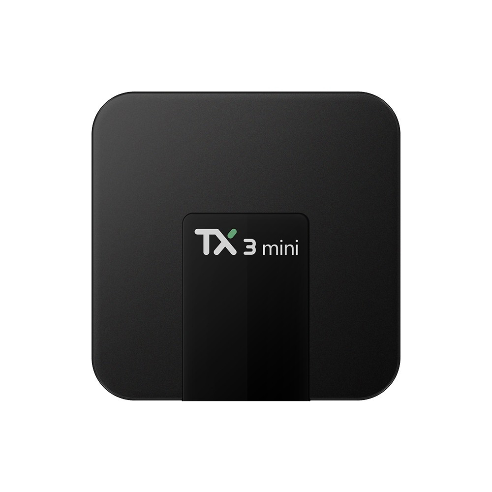 Venditore caldo di Smart TV BOX TX3 mini 2g di ram 16g rom WIFI 2.4 ghz Quad Core 4 k IPTV di Android 7.1 tv box s905w