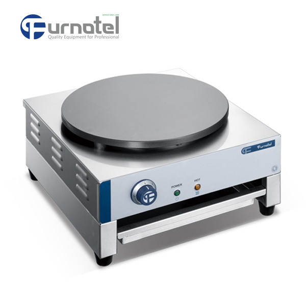 FSECM-0505 FURNOTEL 1-Plate Industrial Electric Crepe Maker Machine