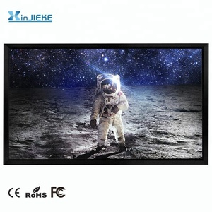 PVC Soft Home theater fix frame projection screen large view fix frame wide/Narrow Fixed frame projector screen