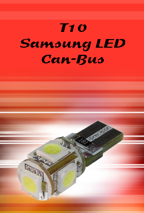 Can-Bus T10 LED Auto Bulb