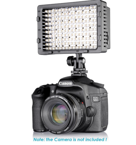 Universal Camera Led Video Light 160 LEDs NANGUANG CN-160
