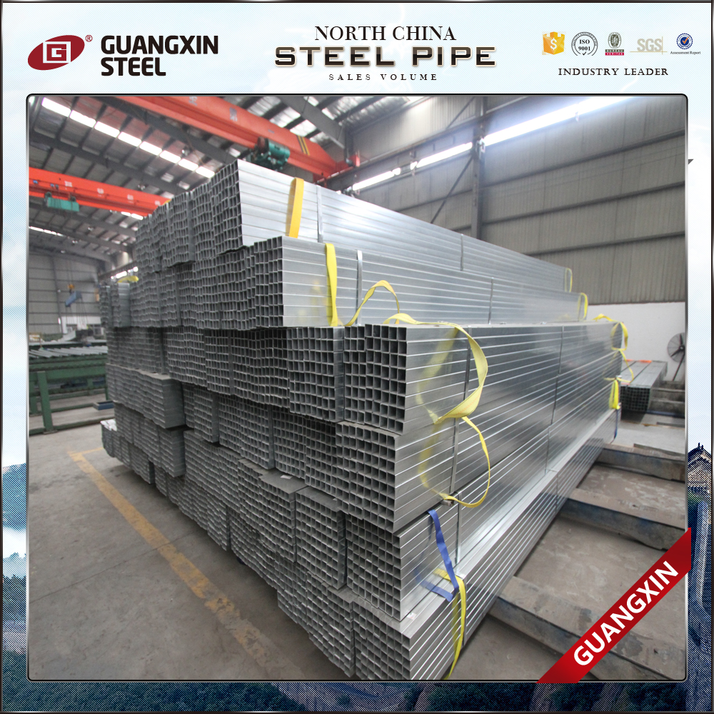 erw square welding steel pipe/gavanized rectangular tube