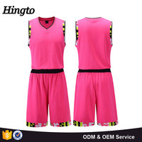 Active women basketball jersey 100% polyester custom design 2016 new design