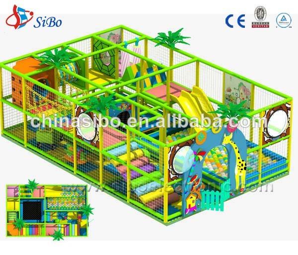 Gm sbi payground interior de interior centro de juegos for Casas de plastico para ninos