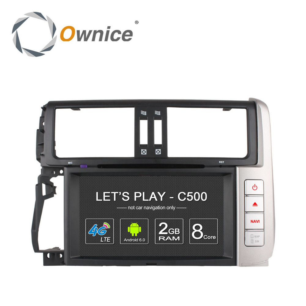 Ownice C500 Octa core 2G ram car GPS video RADIO for <strong>Toyota</strong> <strong>Prado</strong> 2013 support SWC <strong>TV</strong> TPMS DVR built in 4G LTE