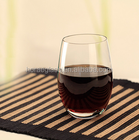 Transparent Red Wine Tumblers Lead free Stemless Wine Glasses Cup Simple Juice Beer Milk Cup Shot Glass For Bar Party