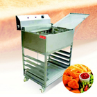 Large industrial electric oven rotating air fryer new style multifunctional stainless steel air fryer