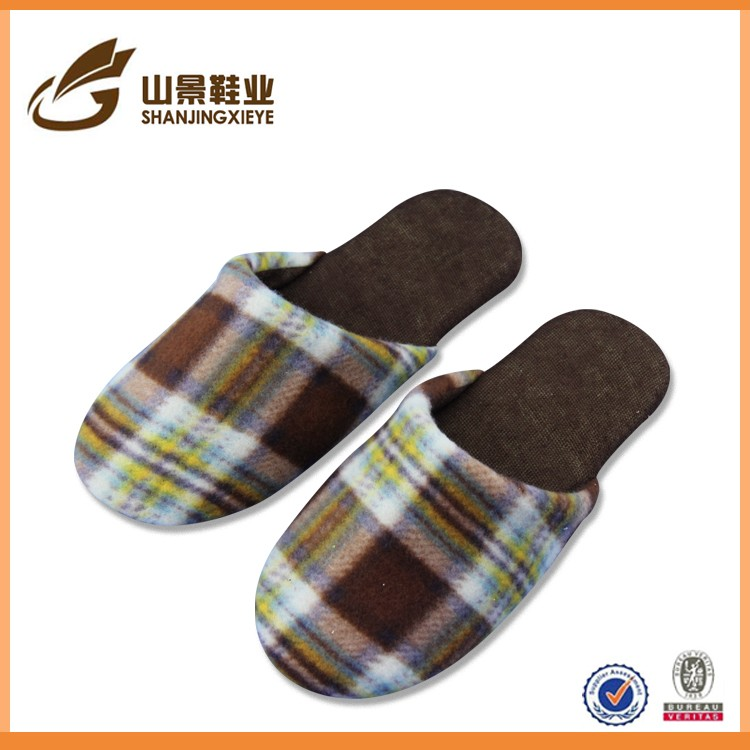 2016 new design slipper increasing funny plush slippers for boy