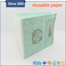 factory price reusable die cut lovely kids decorate gift paper bag