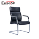European comfort black leather arm ergo cantilever meeting room conference office chair