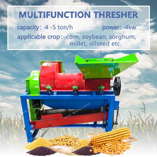 Made in China commerciële maïs sheller en dorsmachine
