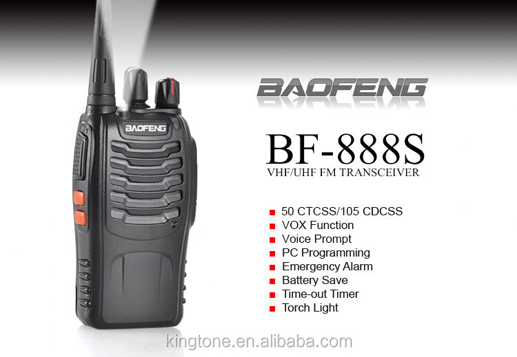 Without Bluetooth Headset Two Way Radio Walkie Talkie Bf-888s Baofeng - Buy  Walkie Talkie With Bluetooth Headset,Handsfree Bluetooth Walkie