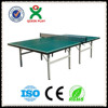 Indoor foldable table tennis table/high density board ping pong table made in china/fun table tennis games QX-141H